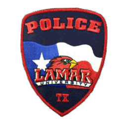 Lamar University Police Department emblem patch