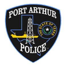 Port Arthur Texas Police Department emblem