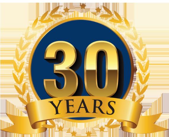 30years badge