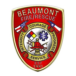 Beaumont Fire Dept emblem
